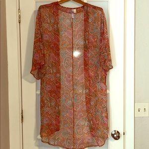Bright Fall Kimono